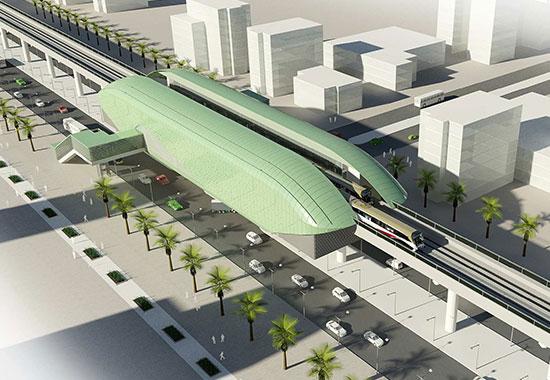 Baghdad Elevated Train