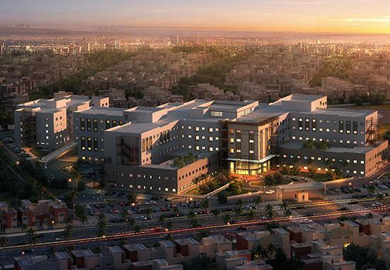 Three 400-Bed Teaching Hospitals